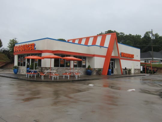 The Whataburger chain was launched in 1950 and uses a distinctive A-frame architecture.