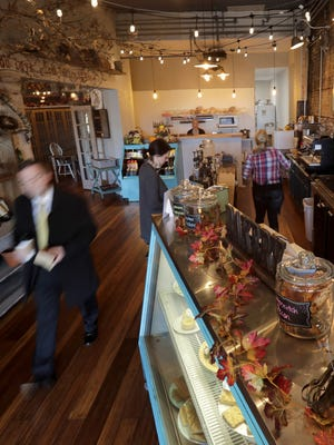 Your Daily Grind coffee shop opened in early November downtown Menasha.