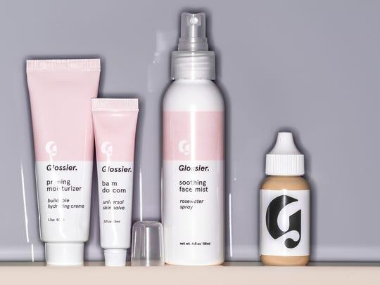Glossier's skin perfecting tint, balmdotcom, soothing