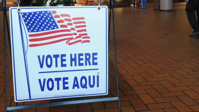 Voters got an early start May 24 at Reno Town Mall. Early voting runs through June 6.