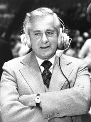 Curt Gowdy, seen in this Sept. 15, 1978, file photo,