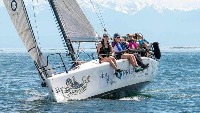 Team Sail Like a Girl, an eight-woman crew from Bainbridge Island, won the annual Race to Alaska in six days, 13 hours.