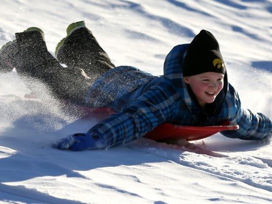 Sledding Restrictions
