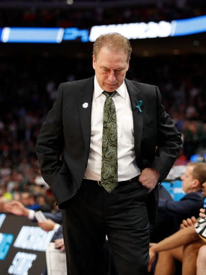 Tom Izzo and the Spartans have lost during the first weekend of the NCAA tournament for three straight years.