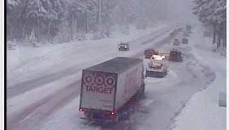 Santiam Junction and all of Oregon's mountain passes will be snow-covered through Friday.