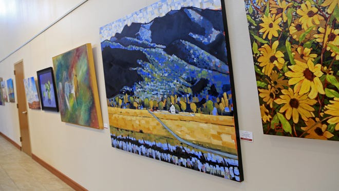 """More than 100 works of art are part of the Southern Utah Art Guild's """"End of Summer Blues"""" at the Red Cliff Gallery in St. George."""