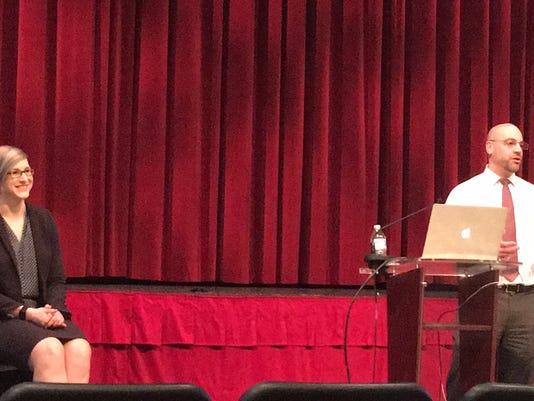 Central York School District social media safety seminar