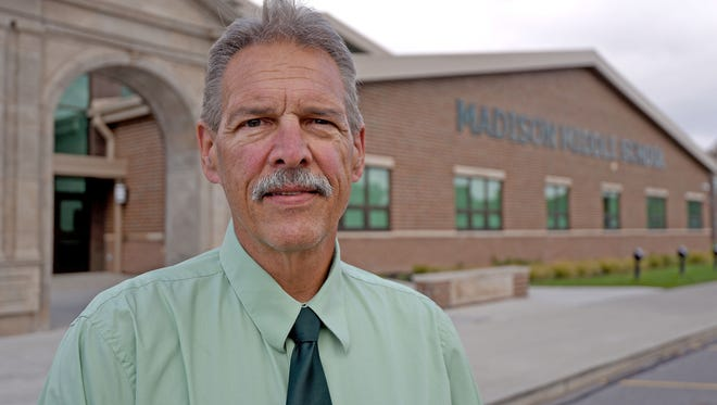 Jeff Meyers was named one of five All Ohio School Board members in the state.