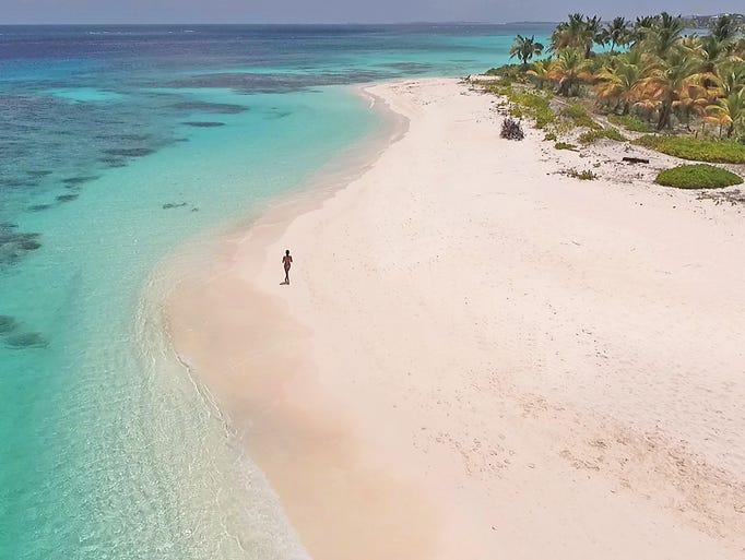 Anguilla: Shoal Bay East is the busiest beach on the
