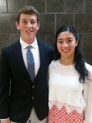 Kyle Zingler and Stephanie Li of Painted Post recently
