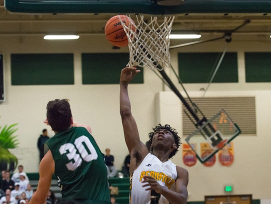 Pennfield's Larz Smith came to the Panthers as a transfer