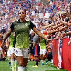 U.S. women's soccer roster set for games in Sweden, Norway