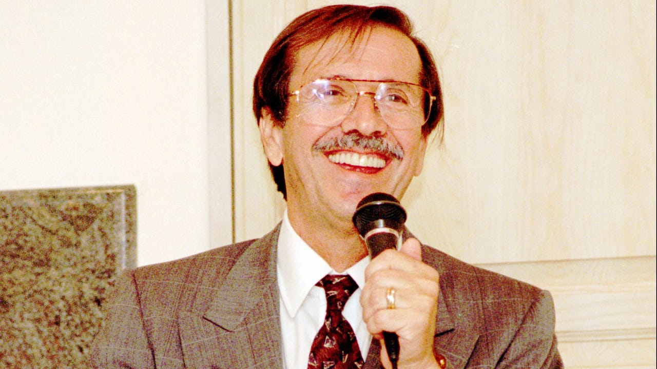 Sonny Bono at the Palm Springs resort, the Riviera, after elected to the U.S. House of Representatives.