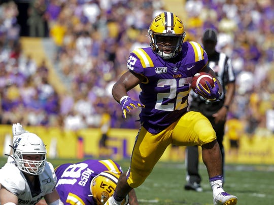 LSU will look to its running attack, including Clyde Edwards-Helaire, to help the Tigers beat Florida.