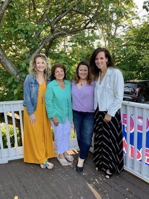Heather McCarthy (left), Angela Monnat, Megan Volhejn and Angie Kettell.