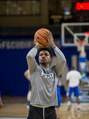 FGCU senior guard Brandon Goodwin, who led the Eagles with a Division I era-best 18.5 last season, is the ASUN Preseason Player of the Year.