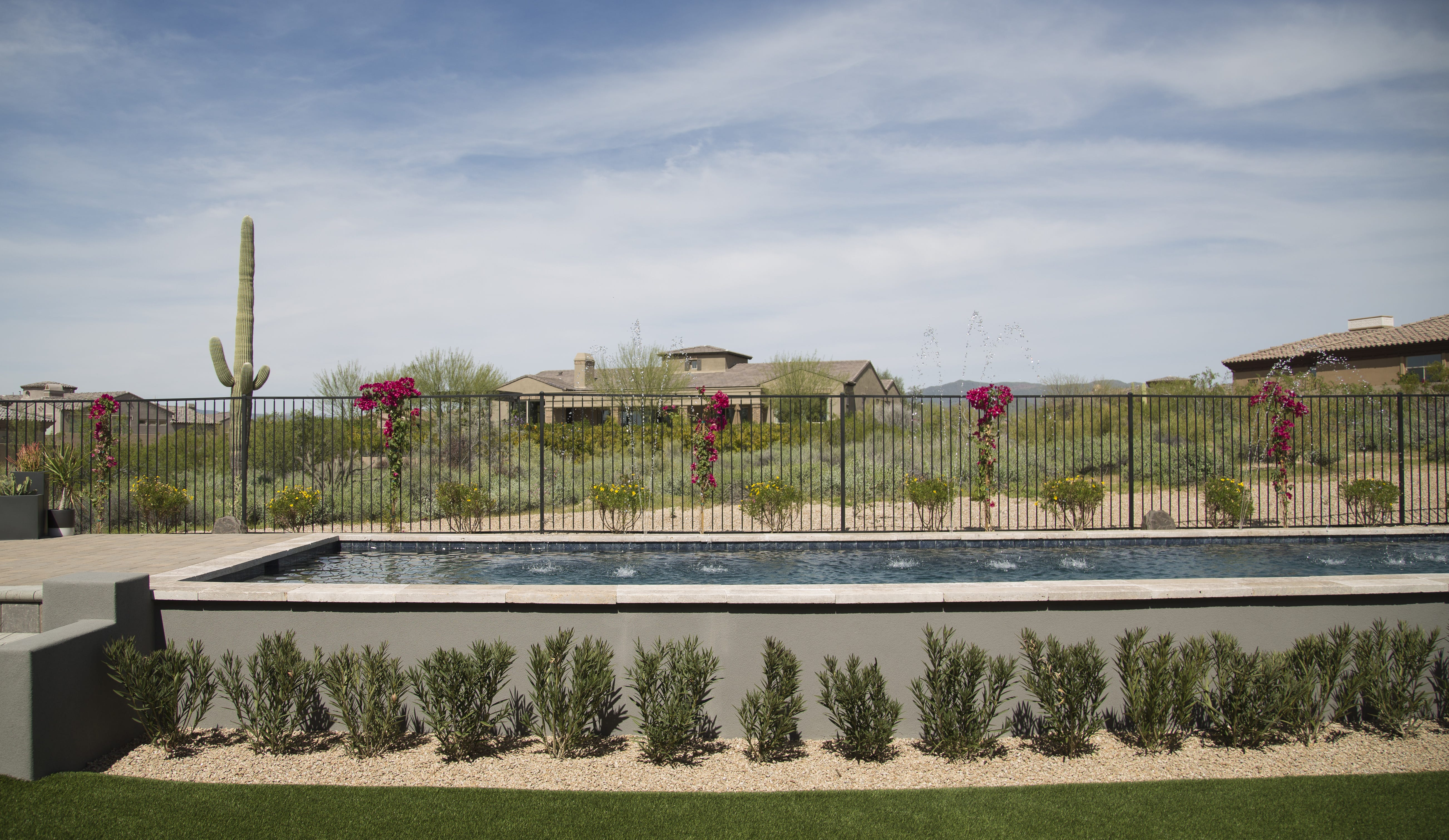hgtvu0027s smart home sits finished in scottsdale on march 15 the smart home is part of a sweepstakes where contestants can win the home a mercedes suv - Hgtv Smart Home Sweepstakes