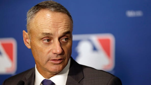 Rob Manfred has held the job of MLB commissioner almost