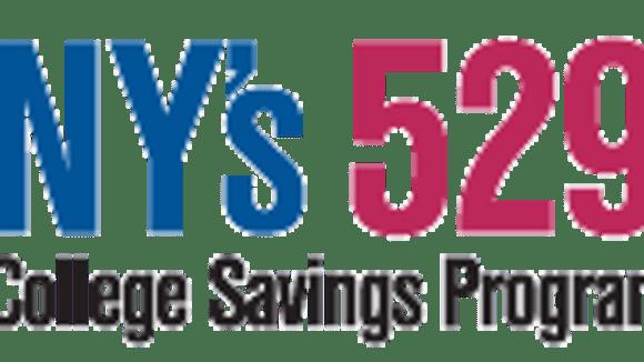 The logo for New York's 529 program for college savings