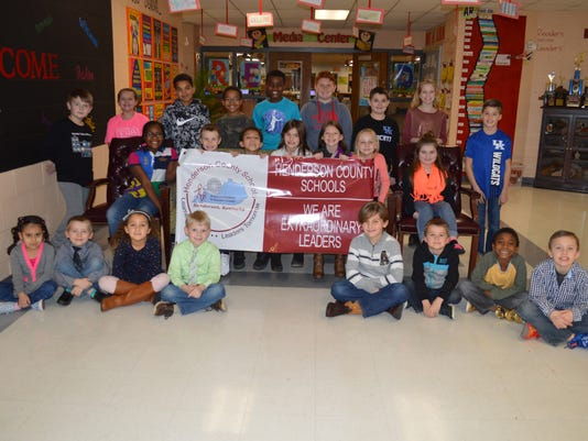 East Heights Elementary January leaders of the month