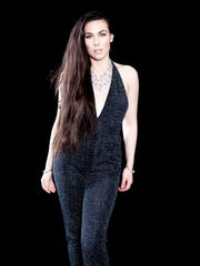 Amaranthe, featuring singer Elize Ryd, plays the House of Independents in Asbury Park on Friday night.