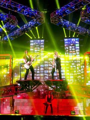 The Trans-Siberian Orchestra performs its Ghosts Of