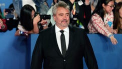 French director Luc Besson attends the closing ceremony