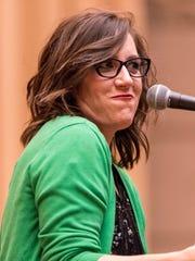 Megan Finnerty, director of the Storytellers Brand