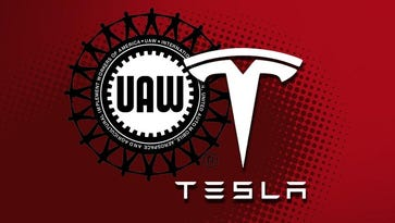 UAW: Tesla workers interested in joining union
