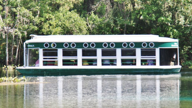 The tradition of glass-bottom boats is still going strong at Silver Springs State Park near Ocala.