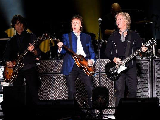 Paul McCartney touring band