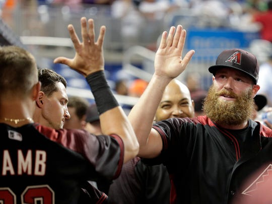 Arizona Diamondbacks relief pitcher Archie Bradley,