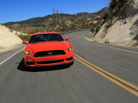 ford recalling  mustangs  seat belt sensor issue