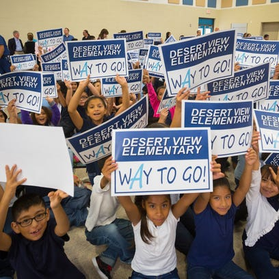 Sunland Park school improves from 'F' to 'A'