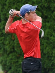 Zane Trace's Caleb Arnold, boys golf player of the year.