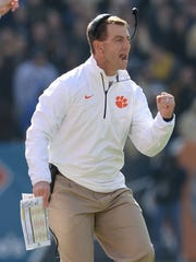 Clemson coach Dabo Swinney has guided the Tigers to