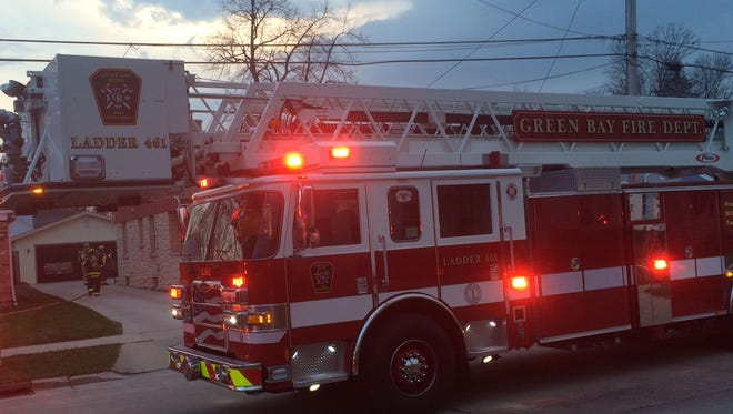 Green Bay Metro Fire Department truck