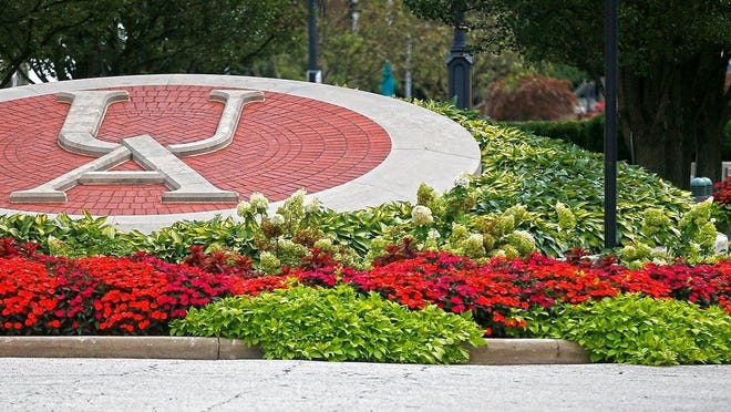 The University of Akron moved up in national rankings released Monday by U.S. News & World Report.