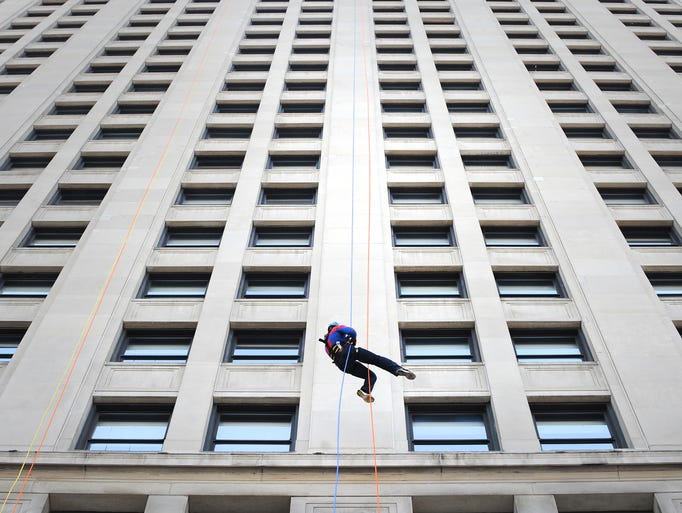Dustin Miller of Waterford becomes Detroit's Spider-man