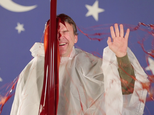 Bryan Alexander suffers 'blood dump.'