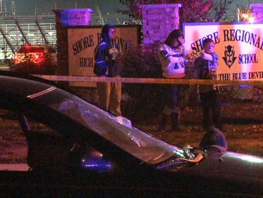 West Long Branch Cop Struck By Car