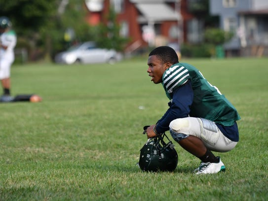Kalon Gervin would like to follow in the footsteps