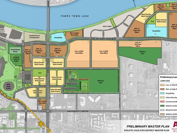 Asu Creating Urban Hub To Pay For Athletics Facilities