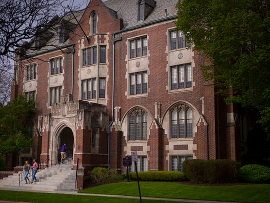 Elmira College's Hamilton Hall