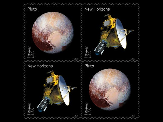 """Pluto-Explored!"" celebrates the fly-by of the New Horizons probe in July 2015 and the images sent back of our favorite dwarf planet."