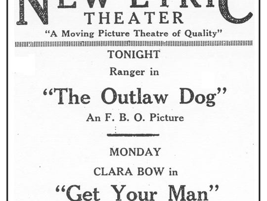 Newspaper advertisement placed by Fred Hancock for