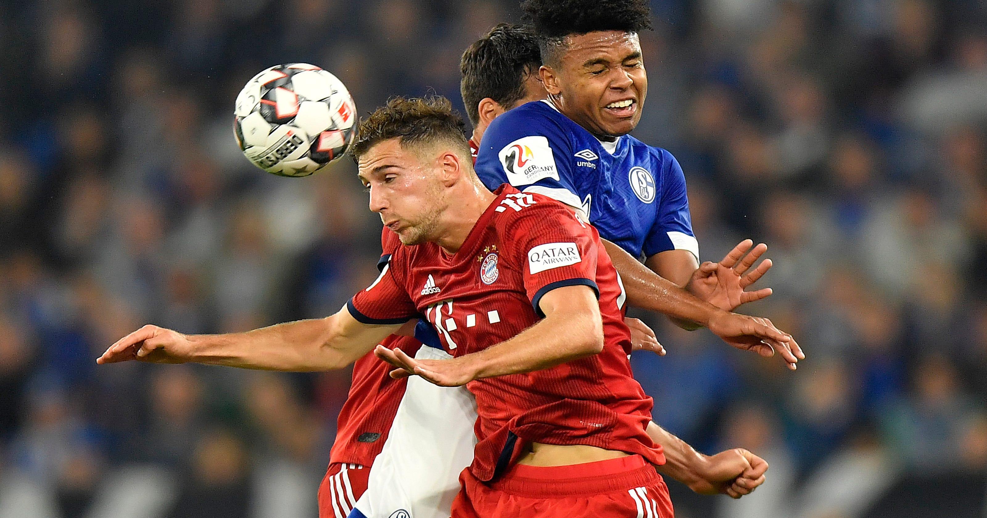 c43c2c41852 Schalke midfielder Weston McKennie injured against Bayern