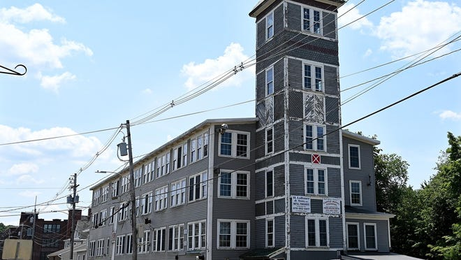 The former H. LaRosee & Sons factory on Broad Street in Hudson will be torn down beginning Tuesday.