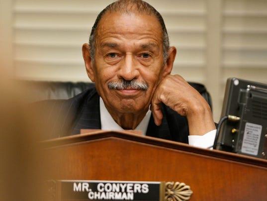 Hasil gambar untuk Nancy Pelosi says John Conyers should resign / GIF