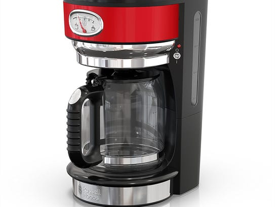 With this coffeemaker, you'll always know how fresh